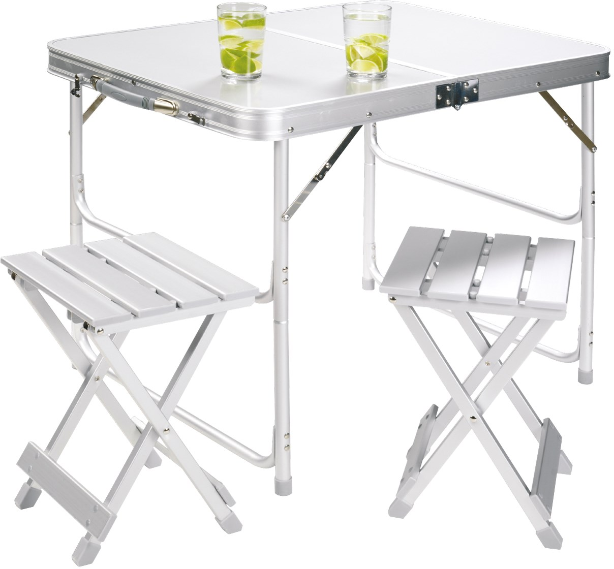 Alu table set for 2